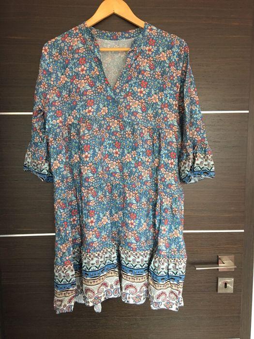 Made in italy! Piekna wloska sukienka rozmiar uniwersalny Częstochowa - image 1