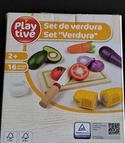 Conjunto Tábua e legumes PLAY LIVE 2+ NOVO