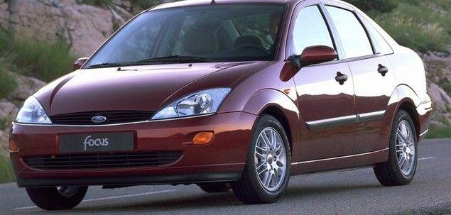 Ford focus sprężyny zawieszenia i klocki hamulcowe
