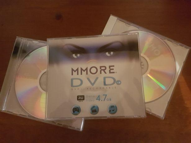 Lote de 3 DVD virgens