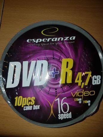 Esperazna DVD-R X16 4,7GB,10 szt