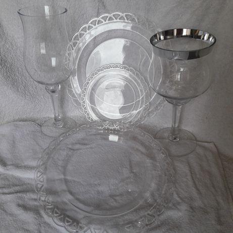 Шикарная стеклянная ваза- бокал тм Sia, Франция