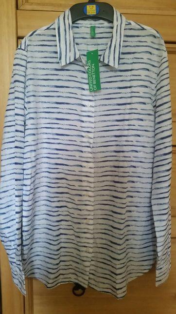 Nowa koszula bluzka benetton S