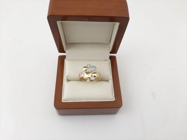 Złoty pierścionek - PR.585 2,97g - Nowe