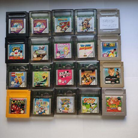 Jogos originais para game boy e gameboy color (Nintendo)
