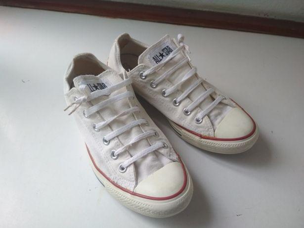 Кеды converse белые размер 40 (25,5 см)