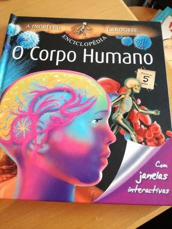 """Livro didático infanto-juvenil """"O Corpo Humano"""""""
