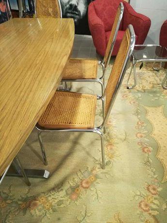 Cadeiras Vintage em palhinha + Mesa Vintage