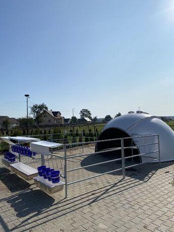 Domek domki budka iglo dla 10-12 cieląt cielaków z włókna szklanego