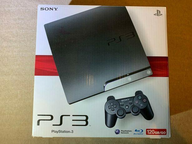 Новая игровая приставка Sony PlayStation 3 Slim 120GB