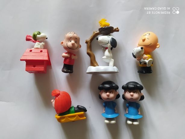 Коллекция снупи игрушки из макдональдса хепи милы