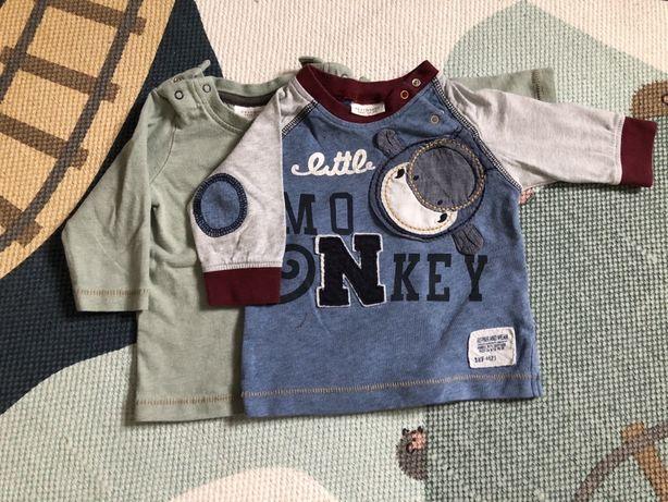 2 Koszulki z długim rękawkiem 62 Next