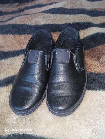 Кожаные туфли 28 размер в идеале