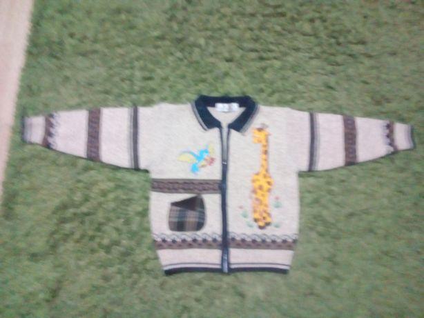 Swetr z węłny dla dzieci