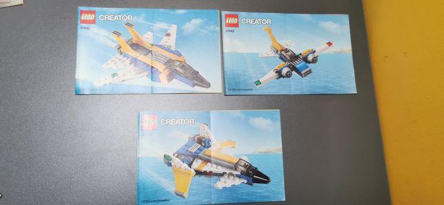 Lego CREATOR 31042 3w1