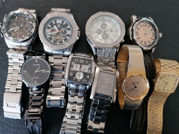 Kolekcja prywatna zegarkow