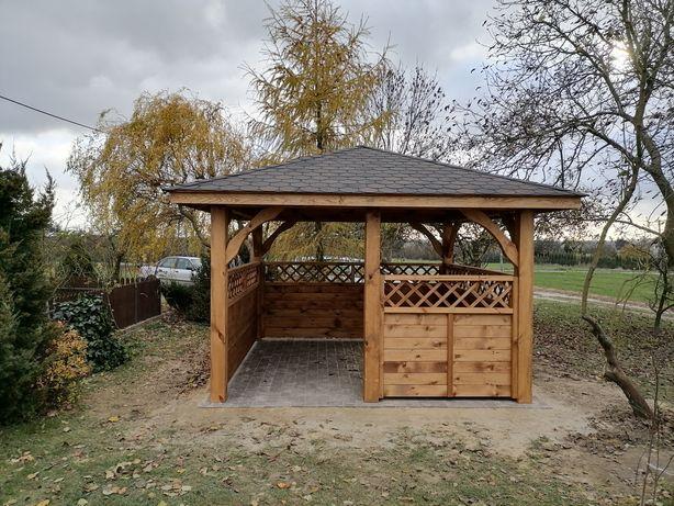 Altana ogrodowa drewniana 3,5x3,5