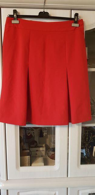 Czerwona spódnica roz42
