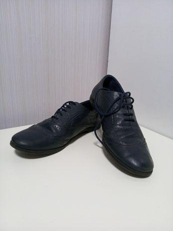 Туфли оксфорды Zara кожа