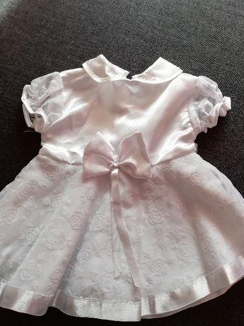 Sukienka na chrzciny, chrzest rozmiar 62