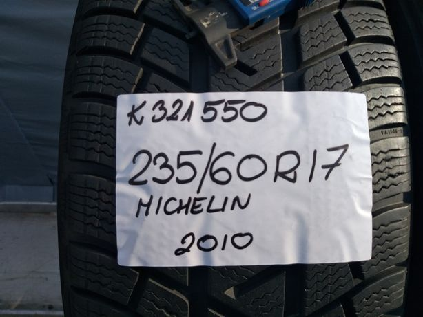 235/60R17 Michelin K321550 latitude alpin komplet