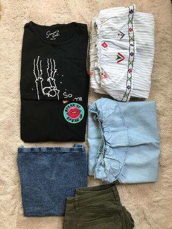 paczka ubrań na lato dla dziewczynki 158 - 164