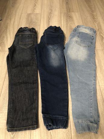 Jeansy roz. 134-140 spodnie