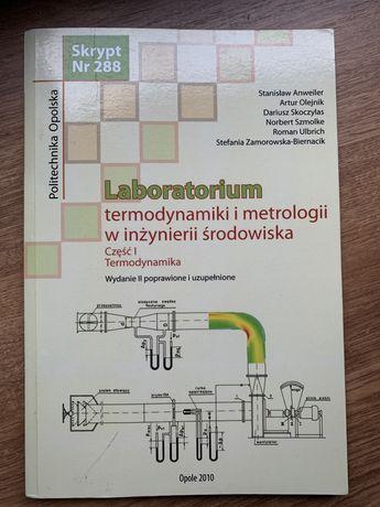 Labolatorium termodynamiki i metrologii w inżynierii środowiska