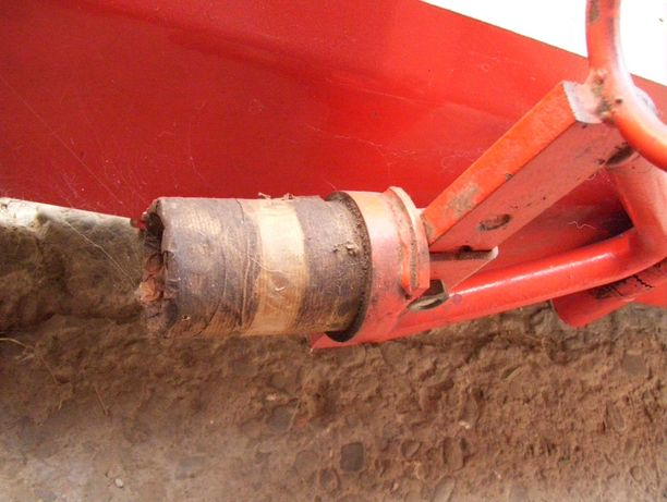 Spych - pług do traktorka MF 70  Fortschritt Gutbrod lub Quada