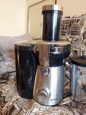 Соковижималка vitek juice extractor vt-1636 800w