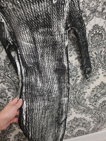 Шерстяное платье. Теплое платье. Косуха