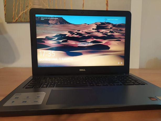 Laptop Dell do gier, pracy, nauki, Intel i7, AMD, dysk SSD, Win 10, gw