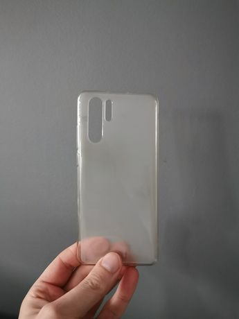Etui silikonowe Huawei P30 Pro mleczne
