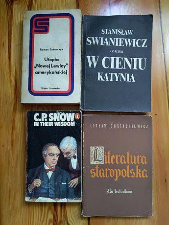 """Lesław Eustachiewicz, """"Literatura staropolska dla techników""""."""