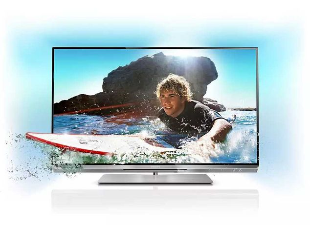 "TV PHILIPS 3D Ambilight 47"" - 47PFL6877K/12 Uszkodzony"