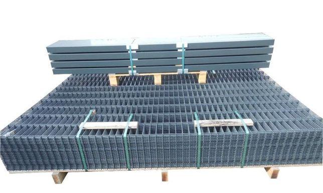 Ogrodzenia panelowe, Panele ogrodzeniowe 3d , słupki PRODUCENT