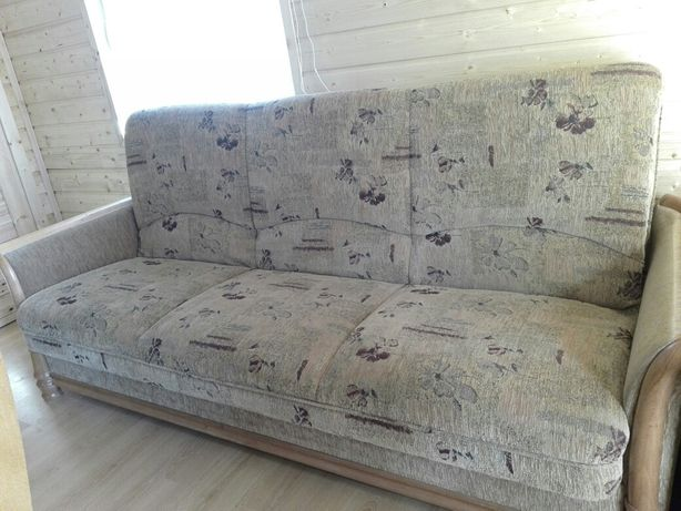 Łóżko wersalka z fotelami