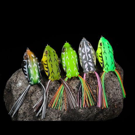 Воблер лягушка незацепляйка - 30 расцветок, жаба на щуку, глиссер