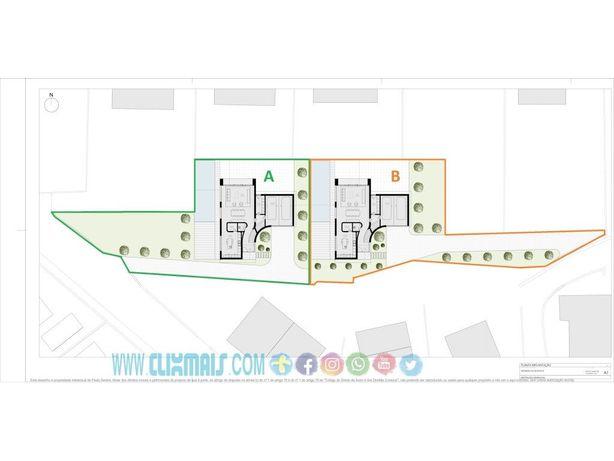 Terreno para construção de moradia individual de 2 pisos