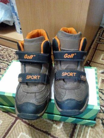 ботинки на мальчика размер 35 демисезонные