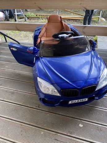 Autko elektryczne BMW jezdzik na akumulator