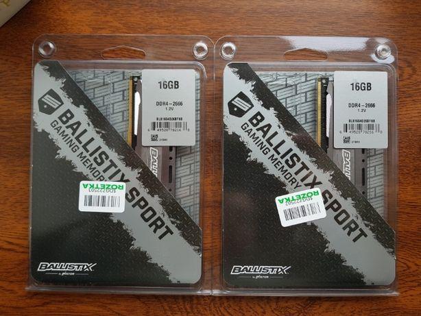 Оперативная память Crucial DDR4-2666 16 GB PC4-21328 Ballistix