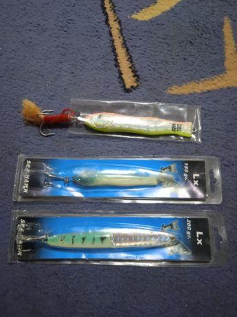 Блесны рыболовные 3 шт. 150 грам 200 грам 350 грам