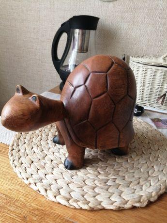 Żółw z drewna