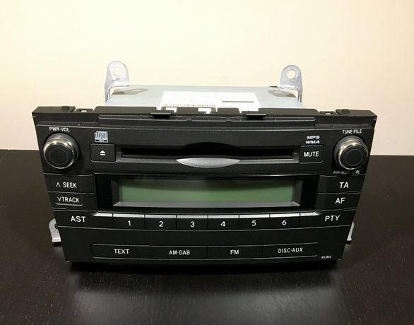 Odtwarzacz radio CD/MP3 TOYOTA Avensis T27