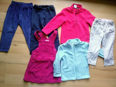 Zestaw ubranek dla dziewczynki