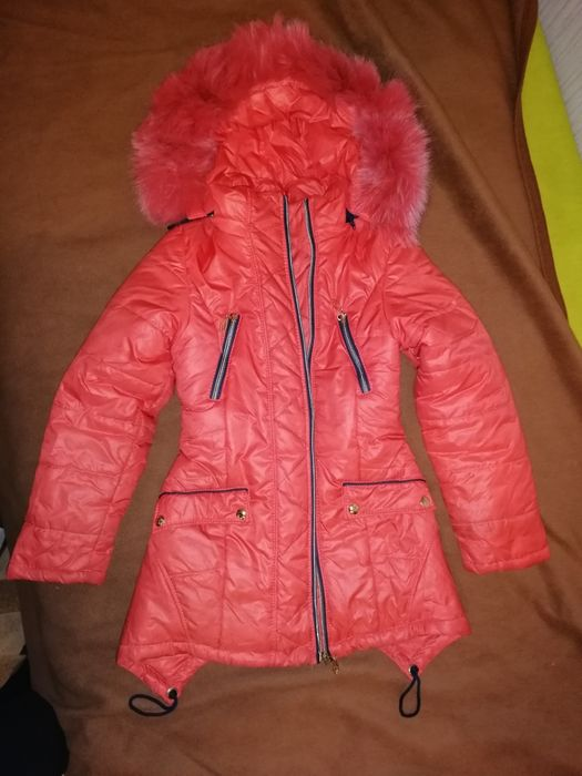 Куртка зимняя 134 рост Киев - изображение 1