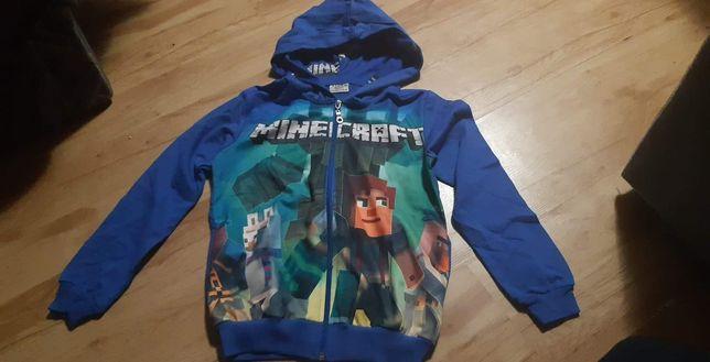 Bluza Minecraft  nowa z metki roz 140. Tylko niebieska   Cena 35zl