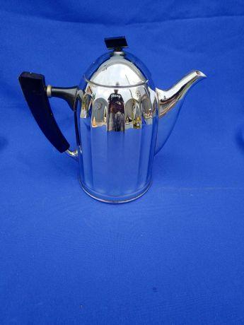 Мельхиоровый чайник СССР мнц 1 л литр латунный никилированый