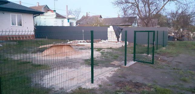 Забор из сетки Мариуполь - сетка для забора 3Д, секции ограждения